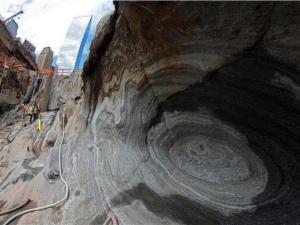 Nuclear Blast Hole beneath a WTC Tower