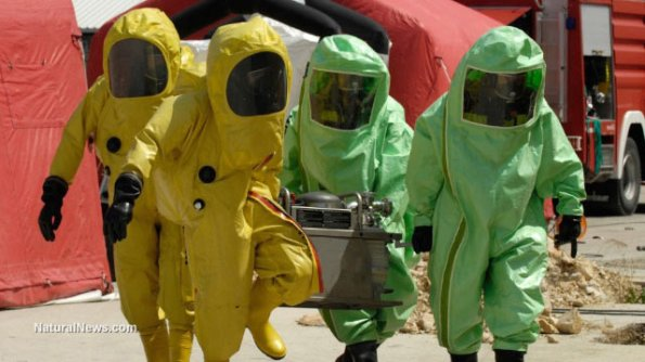 Dallas Ebola Hazmat